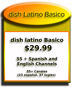 Dish Latino Basico TV Package
